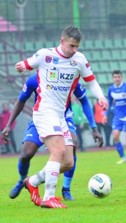 Rafał Jankowski zdobył dla Legionovii 4 bramki i... się zatrzymał. Ostatniego swojego gola zdobył w 6. kolejce w meczu wyjazdowym z Radomiakiem.
