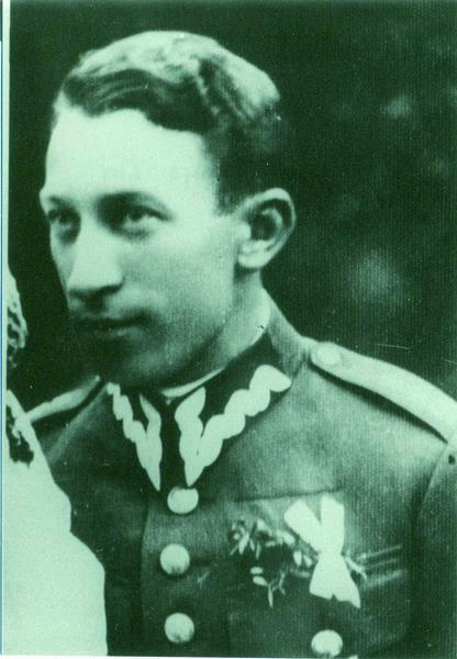 mjr br. Kazimierz Majewski. Fot. ze zbiorów Muzeum Katyńskiego.
