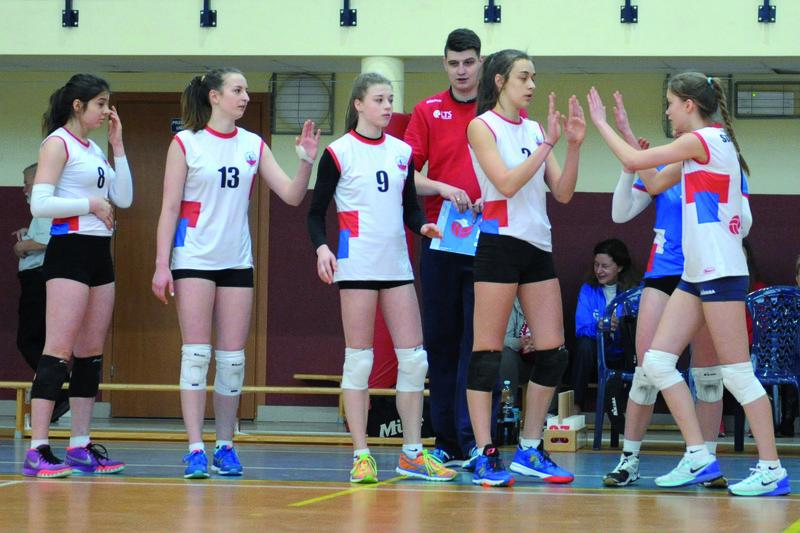 Przed kadetkami LTS Legionovia trudne zadanie, ale podopieczne trenera Dawida Michora chcą zagrać w finałach MP. Fot. fotoMiD