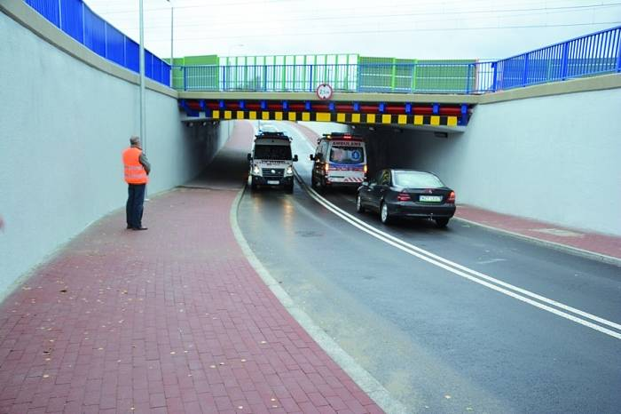 budowa minitunelu w Budowa mini tunelu na wzór tego z Grodziska Maz. pochłonęłaby ok. 12 mln zł. Fot. www.grodzisk.pl