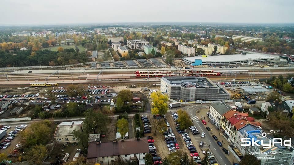 Centrum Komunikacyjne widziane z lotu ptaka. Fot. SkyAd