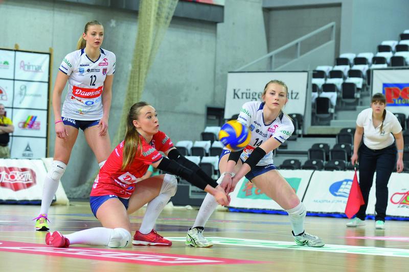 Trzon drużyny może wyglądać np. tak: Monika, Adriana, Klaudia... Fot. fotoMiD