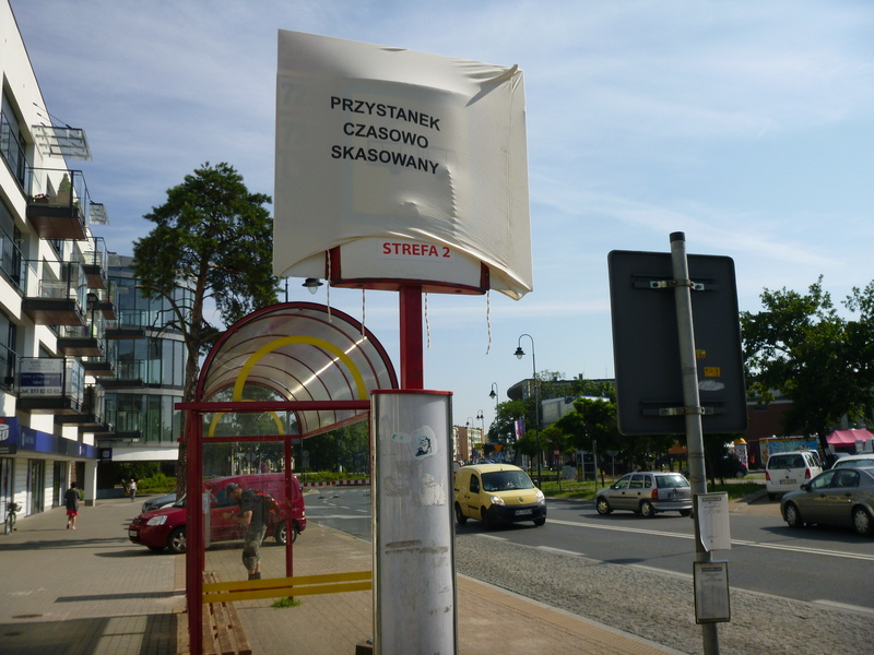 Zmiany w kursowaniu linii ZTM są spowodowane remontem dwóch głównych ulic i ronda w centrum Legionowa. Fot. DB