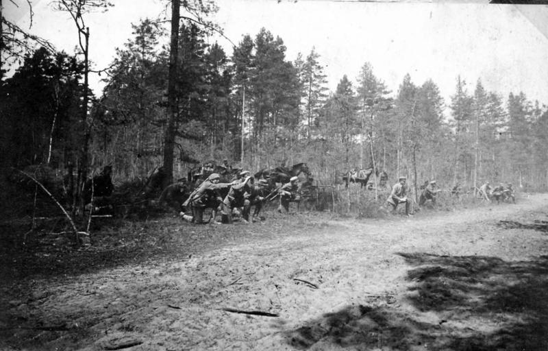 4 VII 1916 Początek walk I, II i III Brygady Legionów Polskich z wojskami rosyjskimi pod Kostiuchnówką.