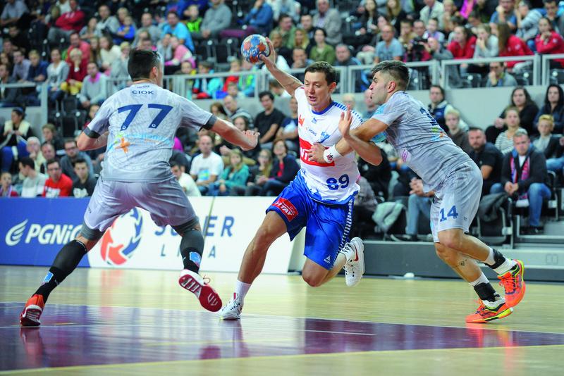 Dima Żytnikow to piłkarz uznanej, europejskiej klasy. Gra ostatni sezon w Płocku. Fot. fotoMiD