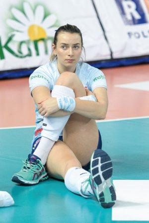 Mina Eweliny Mikołajewskiej wyraża w zasadzie wszystko     Fot. fotoMiD