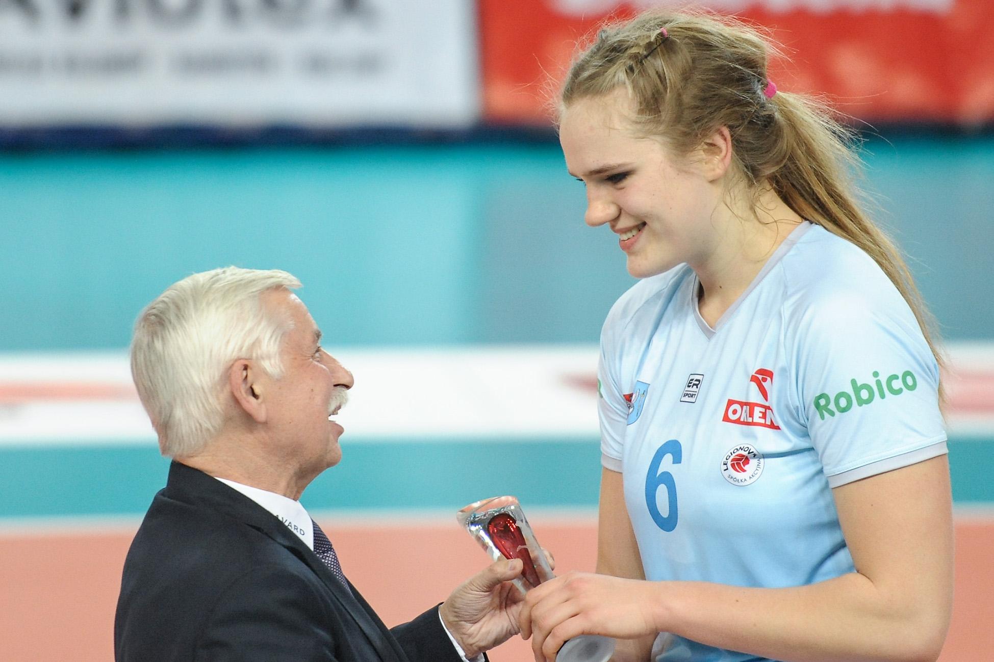 MVP spotkania – Aleksandra Rasińska Fot. fotoMiD