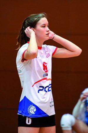 Paulina Sobolewska MVP niedzielnego spotkania Fot. fotoMiD