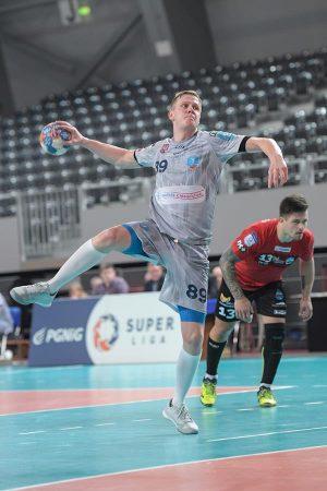 Wojciech Gumiński zdobył 10 bramek. Od kolejnego sezonu będzie reprezentował barwy Azotów Puławy Fot. fotoMiD