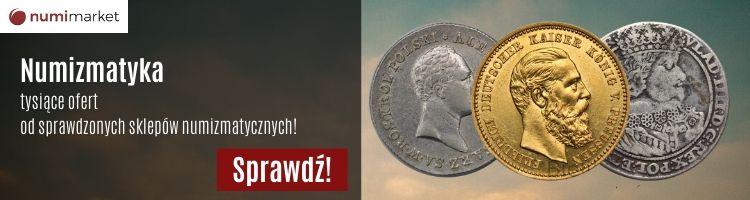 Numizmatyka - tysiące ofert od sklepów numizmatycznych